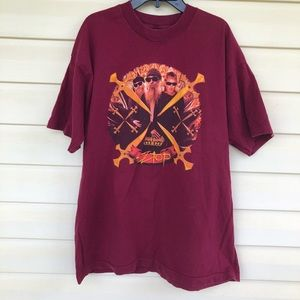 Vintage ZZ Top tour shirt